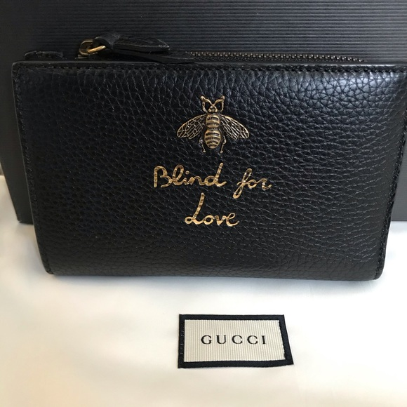 Gucci Handbags - Sold to Fashionphile 💜Gucci Blind for Love Wallet